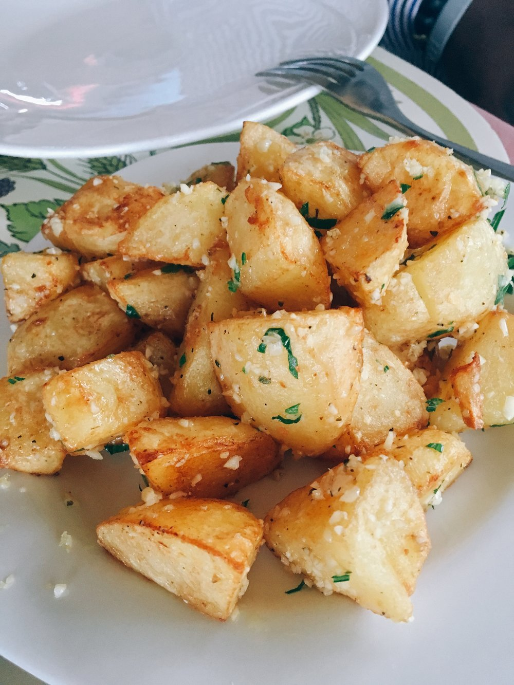 sauteed potatoes at Au Grand Ecuyer