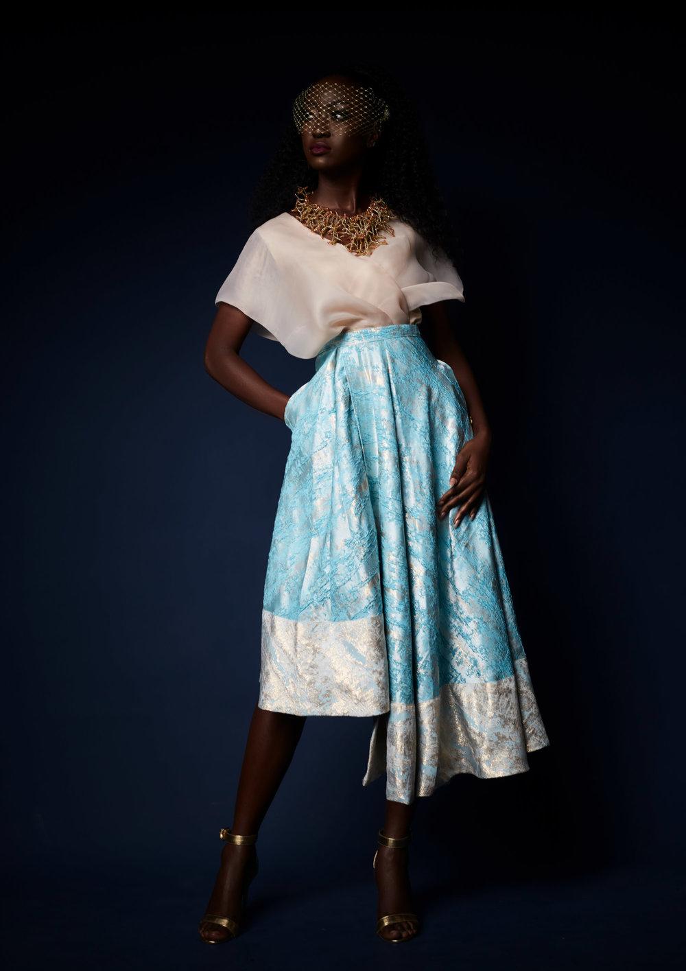 MOD - The Mila Blouse & Imani Skirt