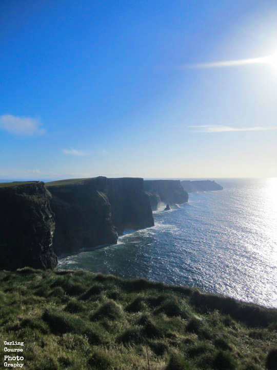 Cliffs of Moher - photo provided by Carling Course