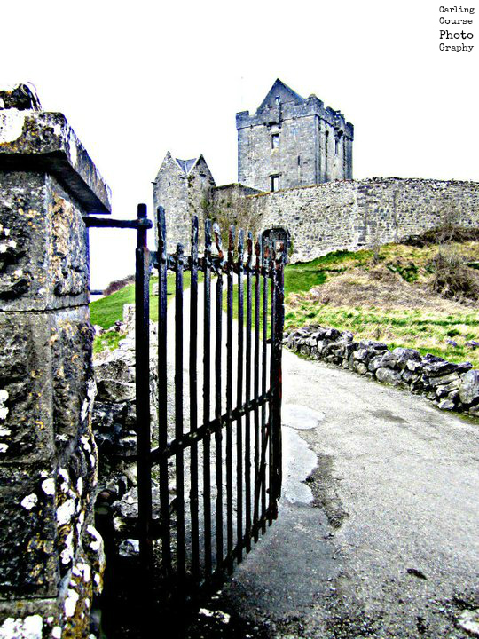 Dunguire Castle - photo provided by Carling Course