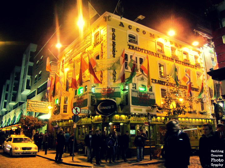 Temple Bar - photo provided by Carling Course