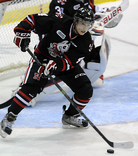 Vince Dunn has been having a stand-out season for the Niagara Ice Dogs.