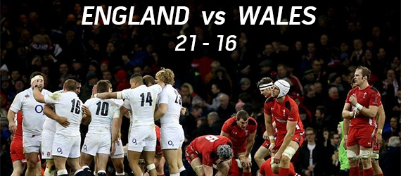 England defeats Wales RBS 6 Nations Rugby