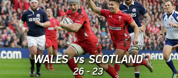 Wales vs Scotland Rugby in NIagara Falls RBS 6 Nations