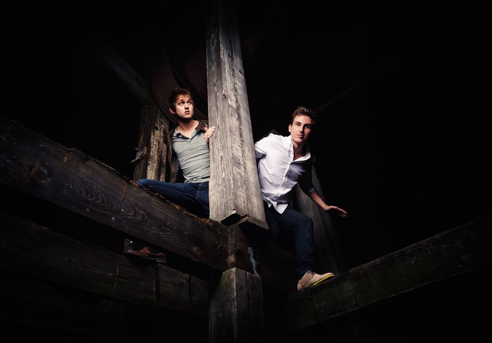 Luke Conard and Landon Austin