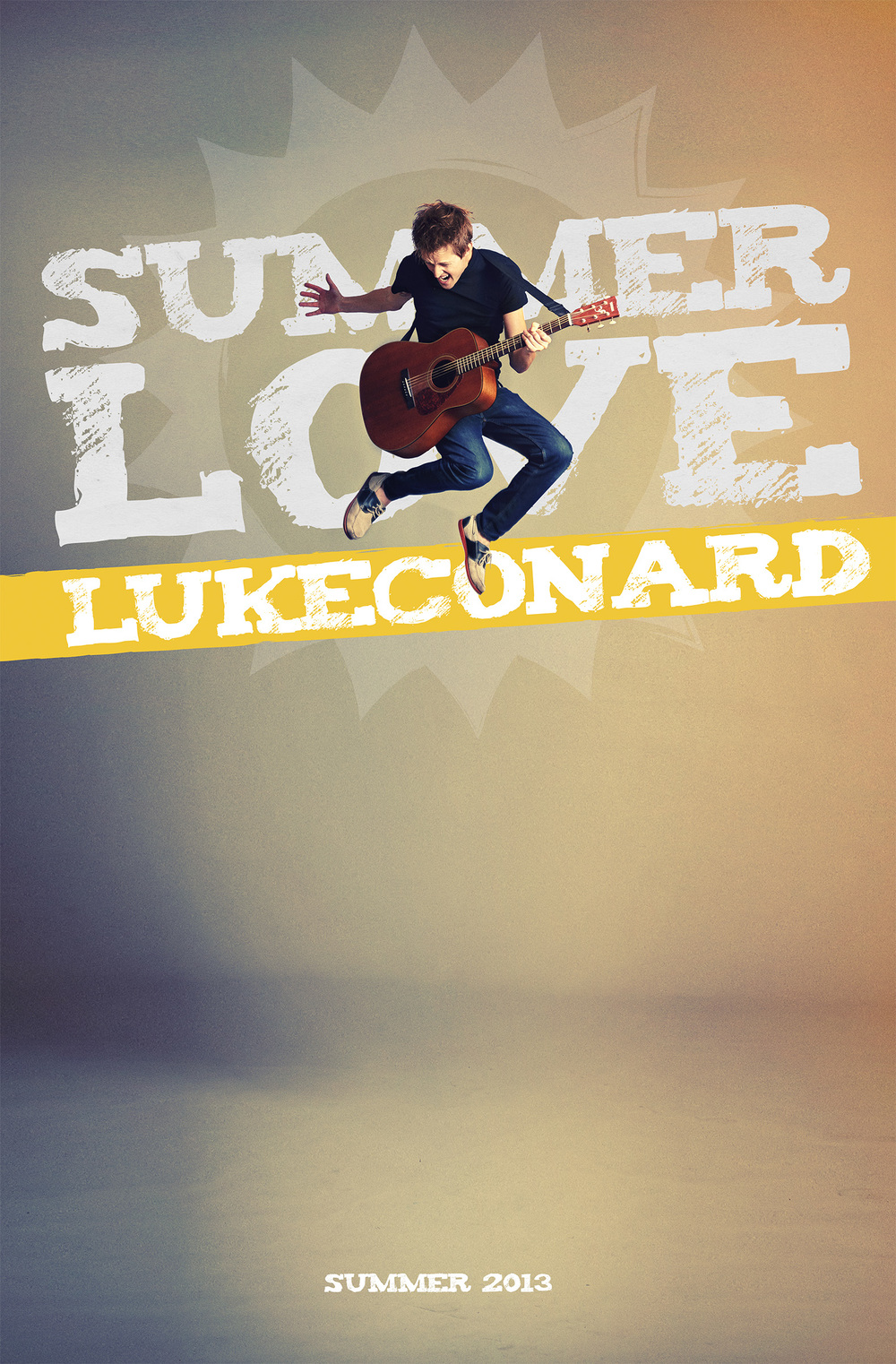 Poster Design for  Luke Conard