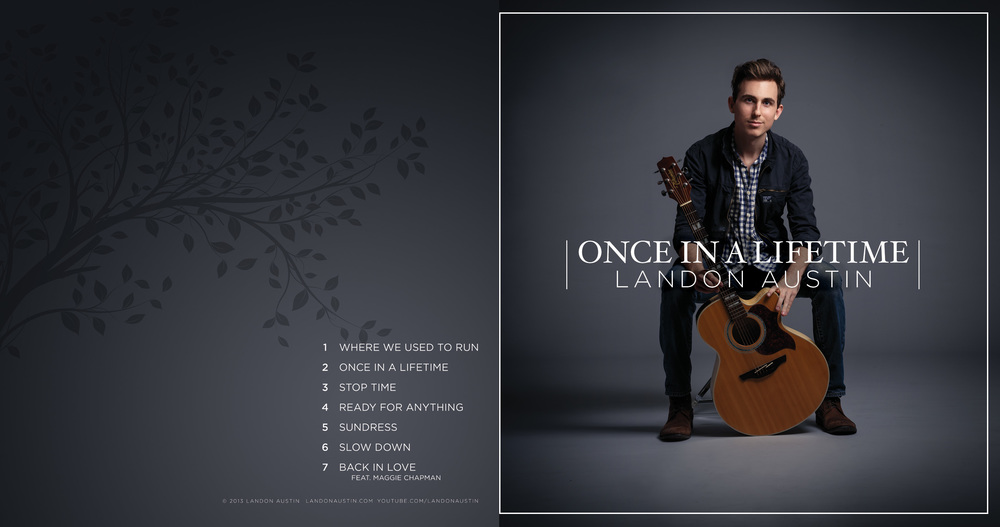 Album Cover for  Landon Austin'  s Once In A Lifetime