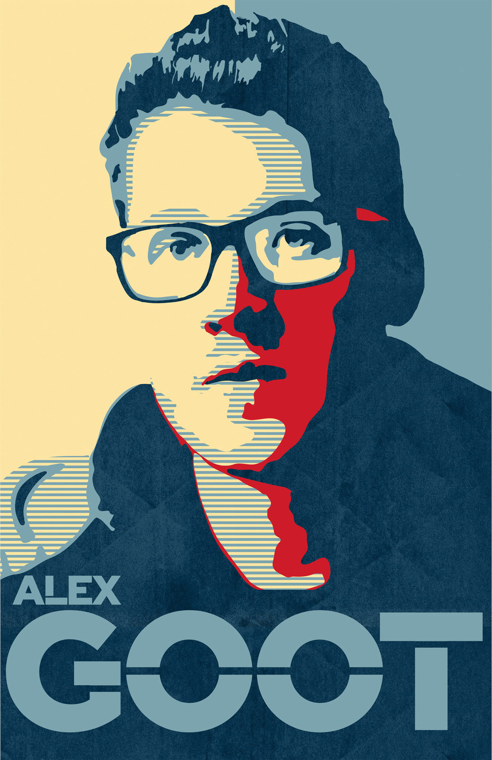 Poster Design for  Alex Goot