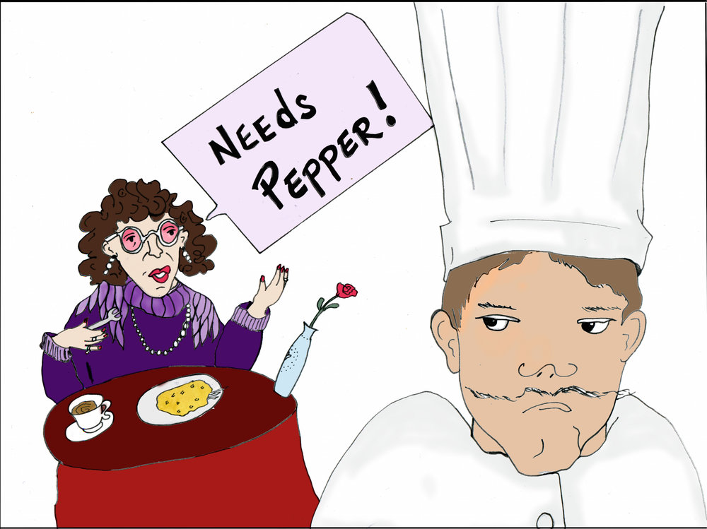 needs pepper