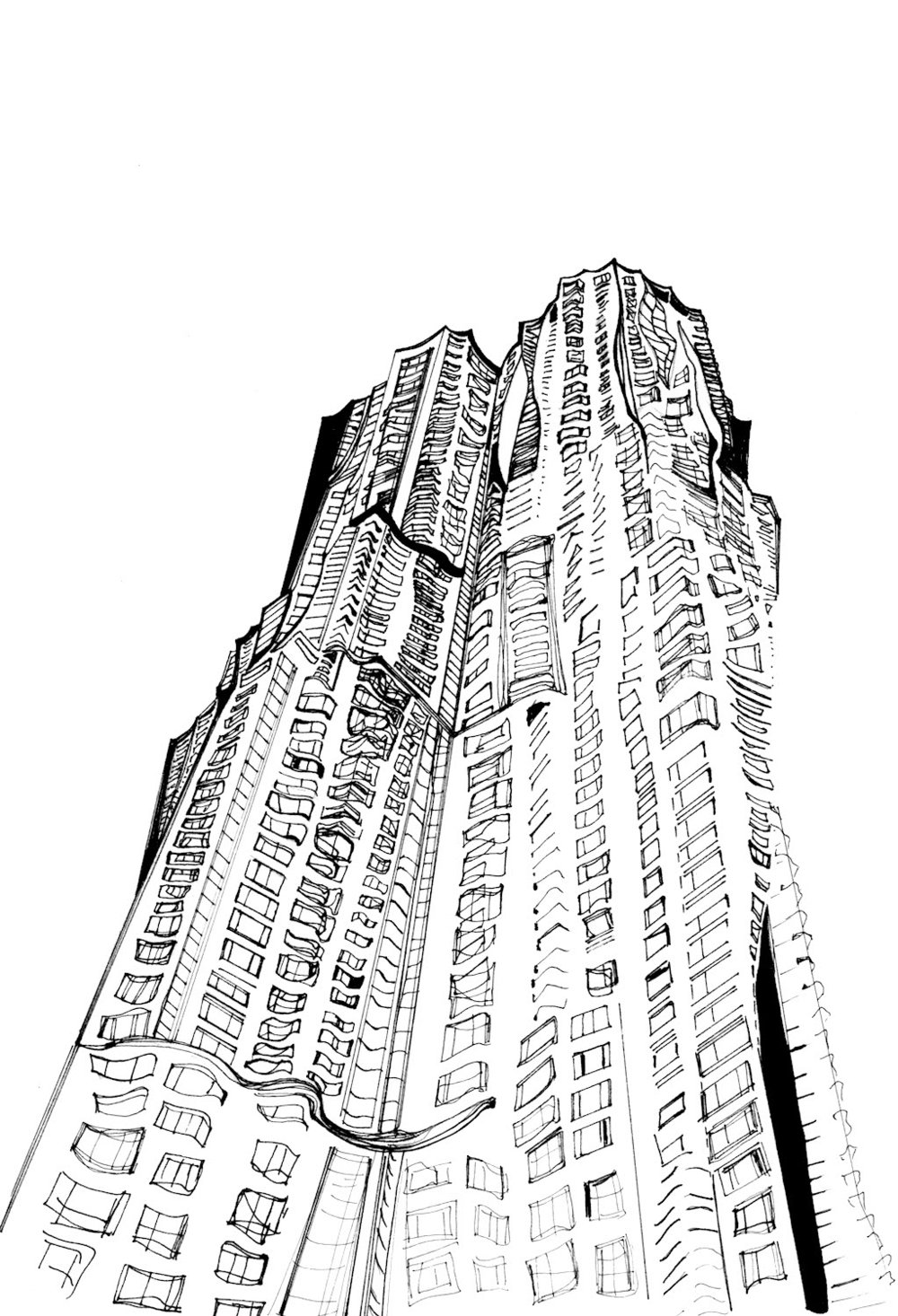 8 Spruce, The Frank Gehry Building