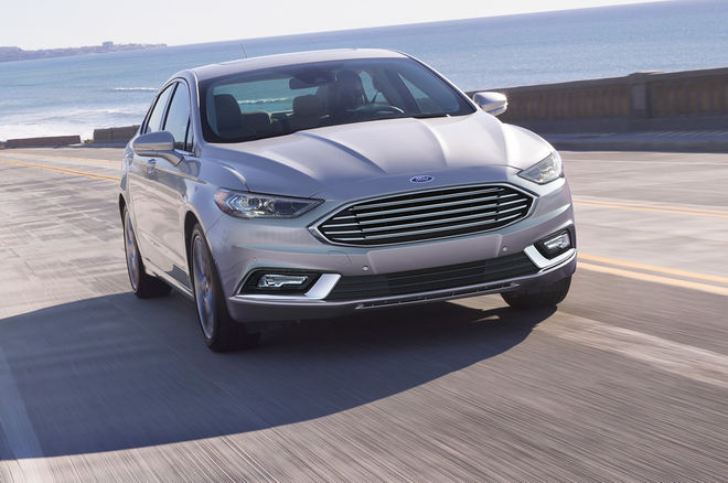 2017 Ford Fusion Remus Performance Exhausts