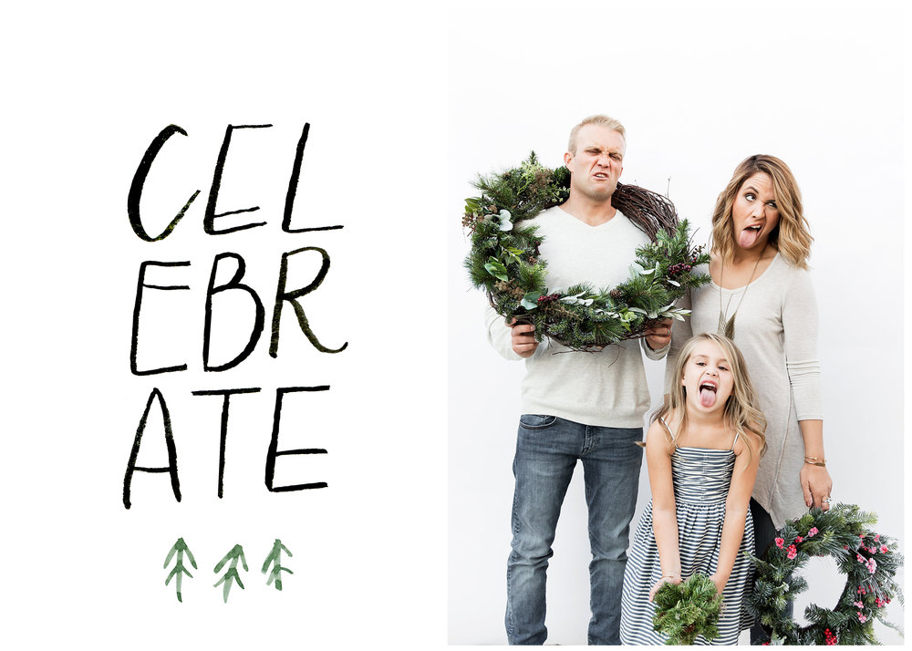 simple holiday card