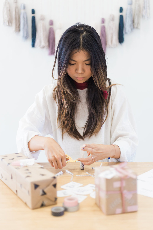 washi tape wrap ideas
