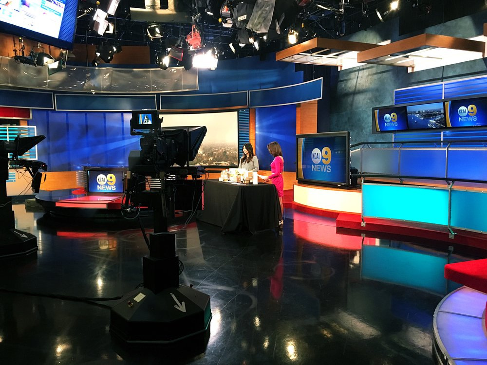 KCAL news recording