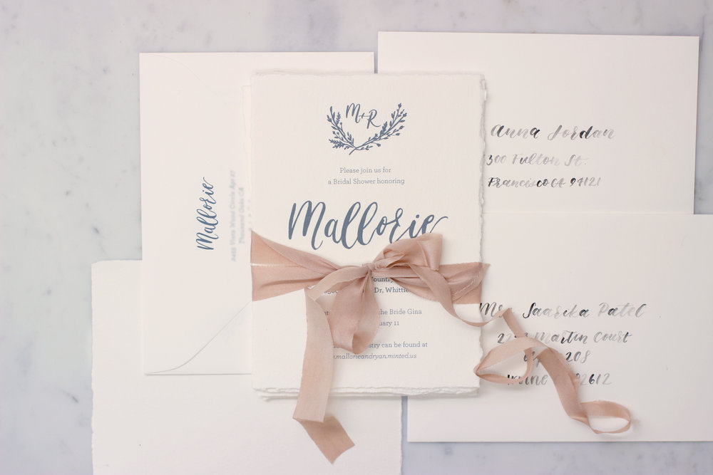 Deckled Edge Invites