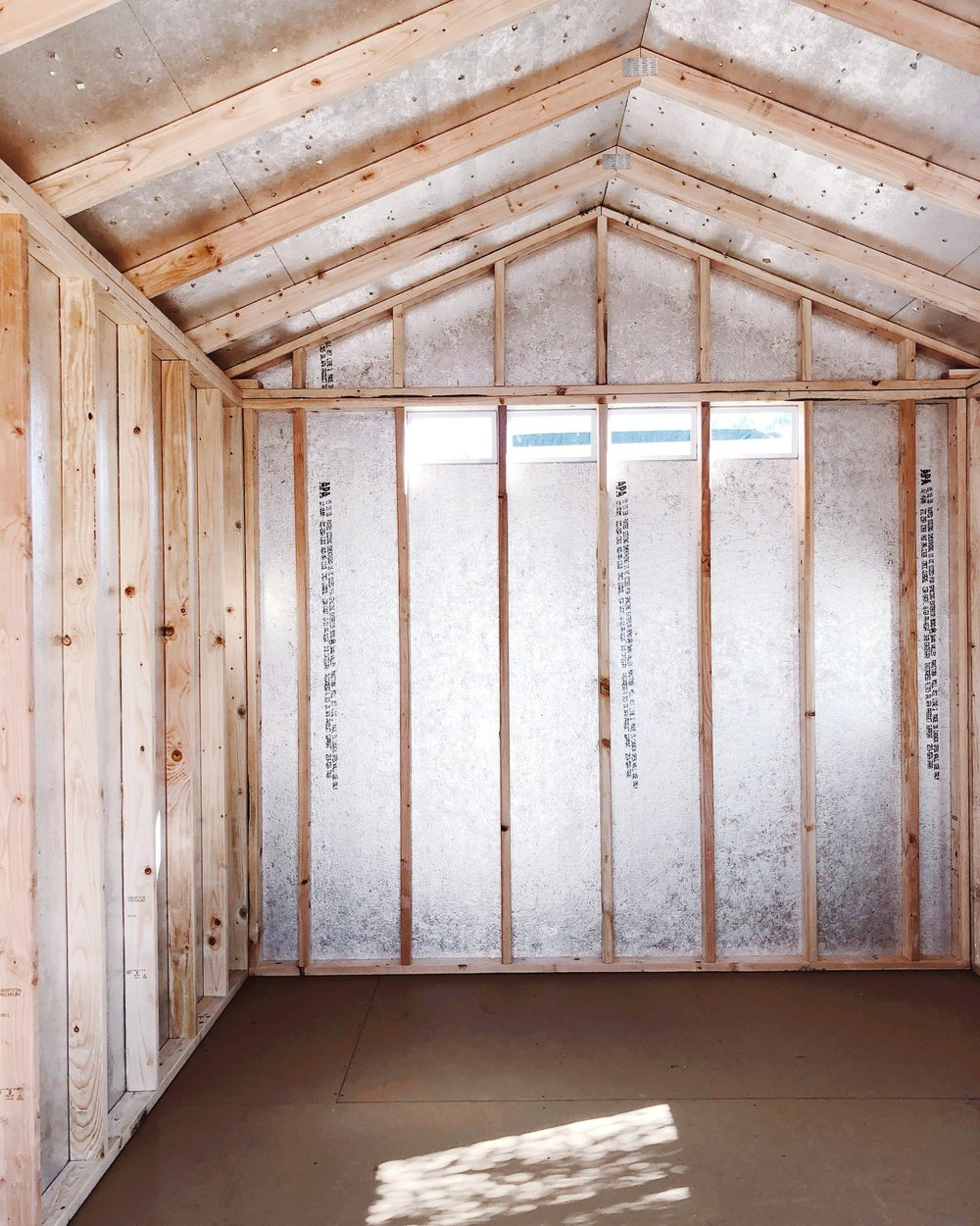e1efae97cbbf Converting a Shed into an Art Studio — Chasing Linen | Illustration ...