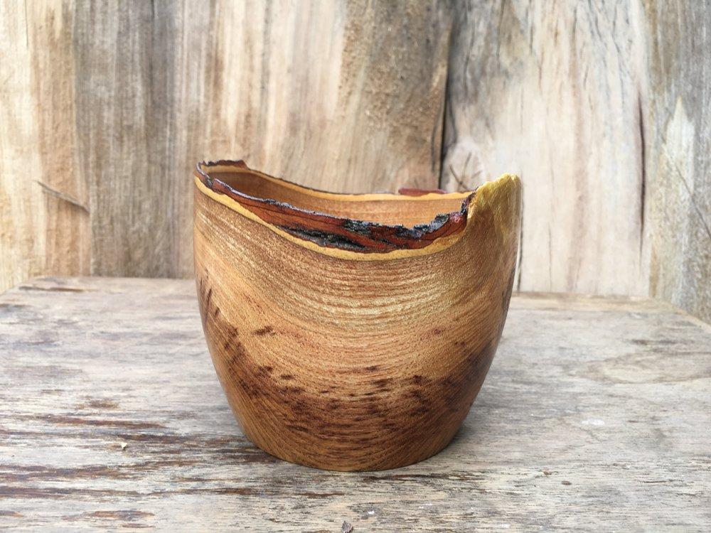 Handmade Natural Edge Wooden Bowls