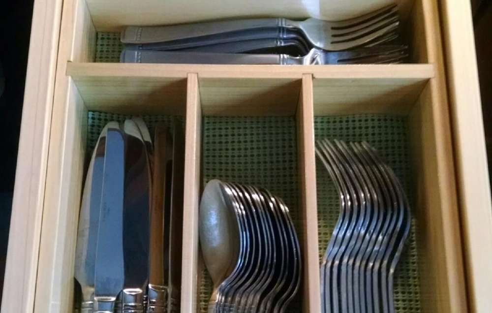 Custom Handmade Kitchen Utensil Storage Tray Photograph