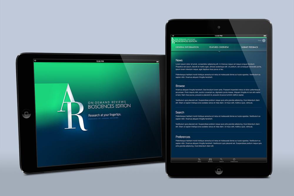 On-Demand Reviews iPad App (Unreleased)