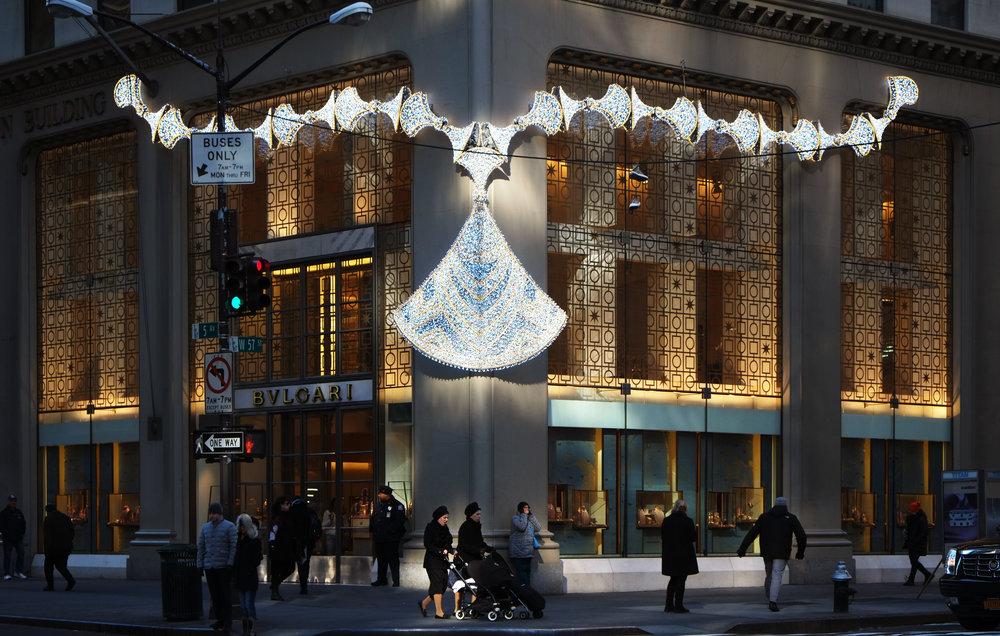New York, Bulgari 5th avenue boutique