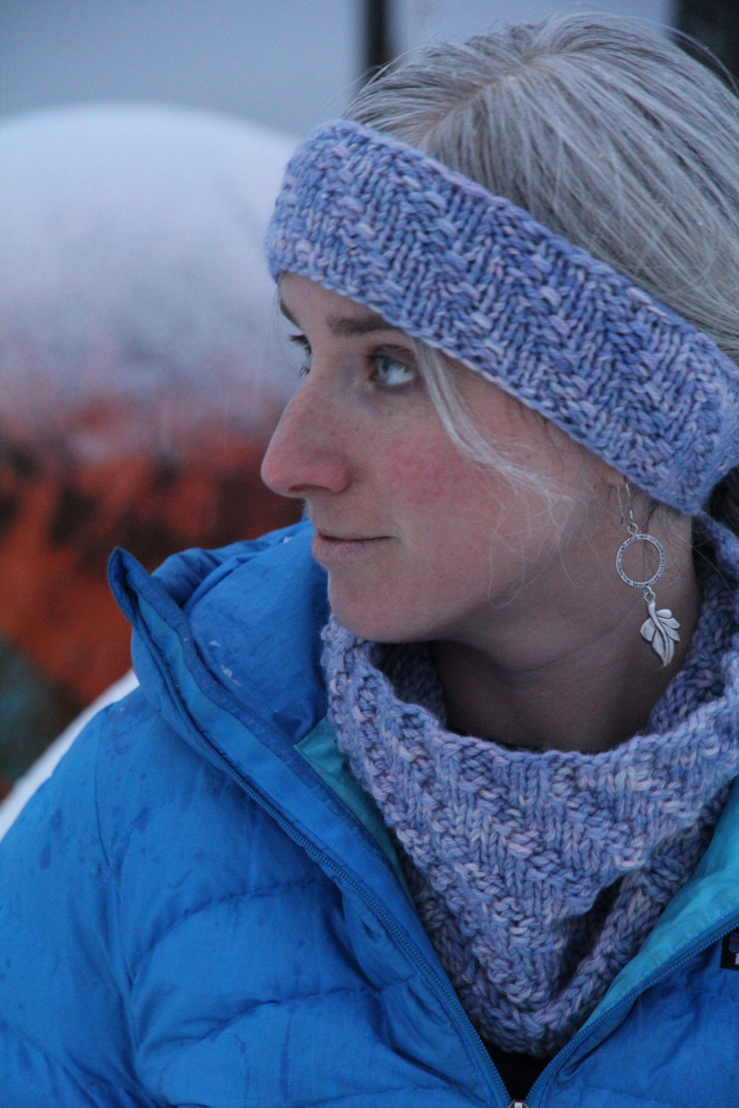 Winter's Light Cowl & Headband