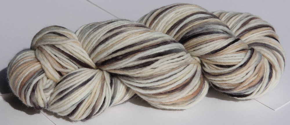 Single Ply Heavy Worsted Weight in Trumpeter