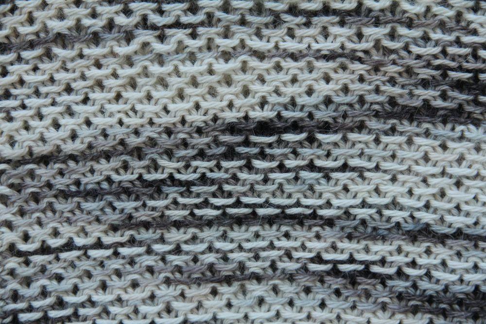 Honey Cowl Detail