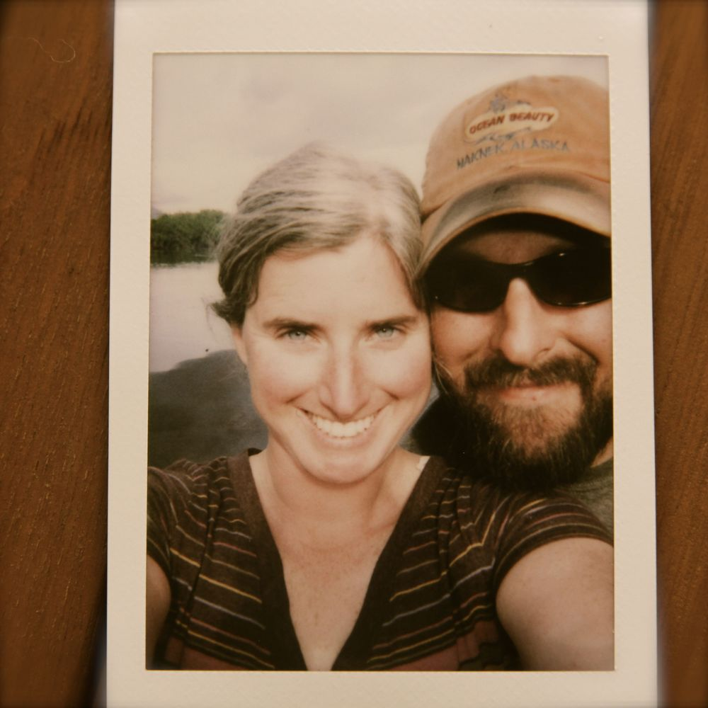 On the River with the Fuji Instax