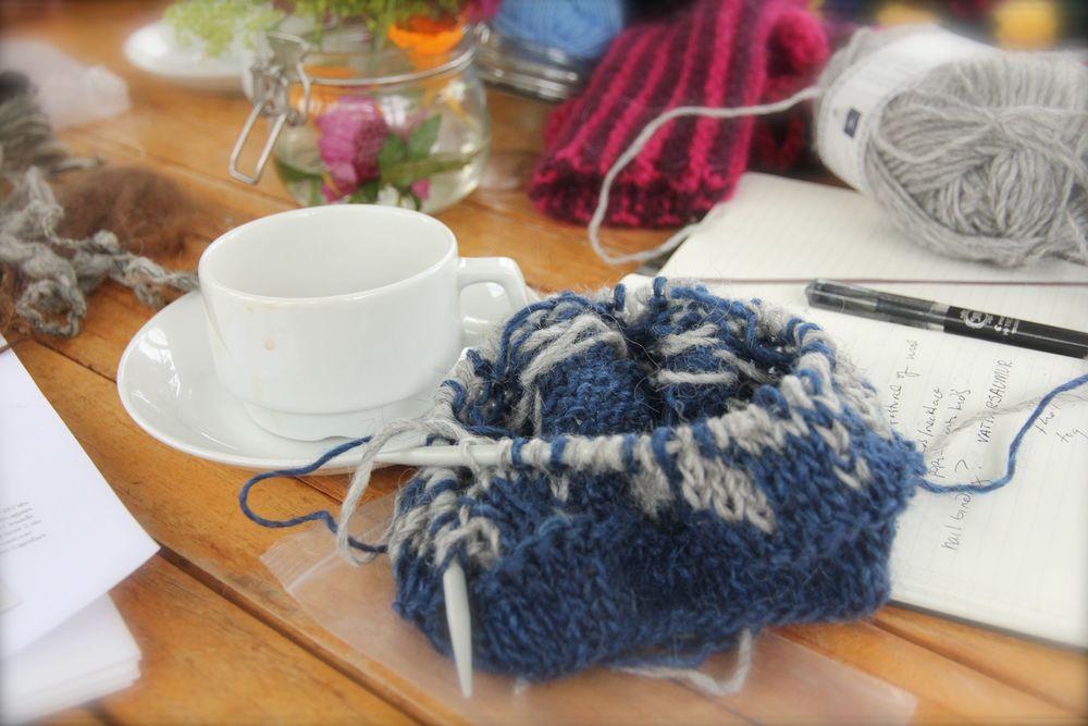 Knitting & Coffee in Rekjavik