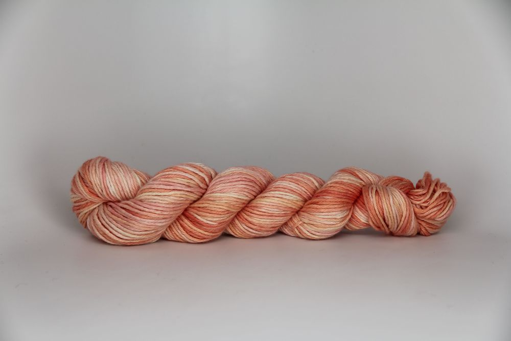 Alpenglow on Worsted Silk Cashmere