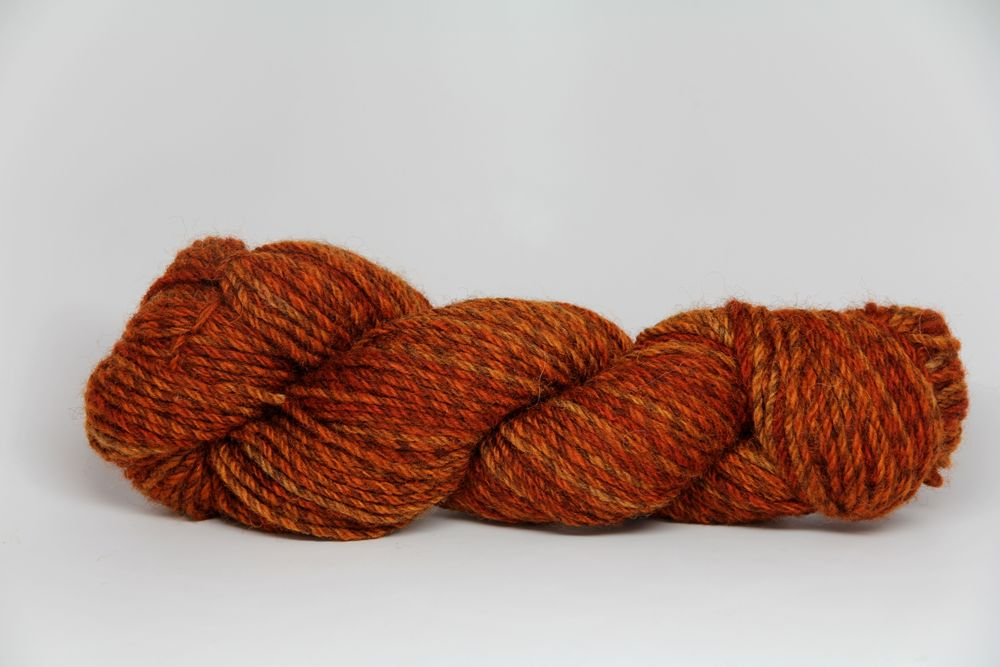 An Alpine Autumn on 12ply Corriedale