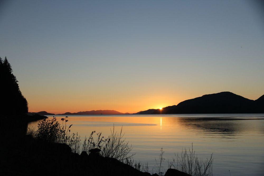 orca road-sunset-cordova-alaska-woolen travels.jpg