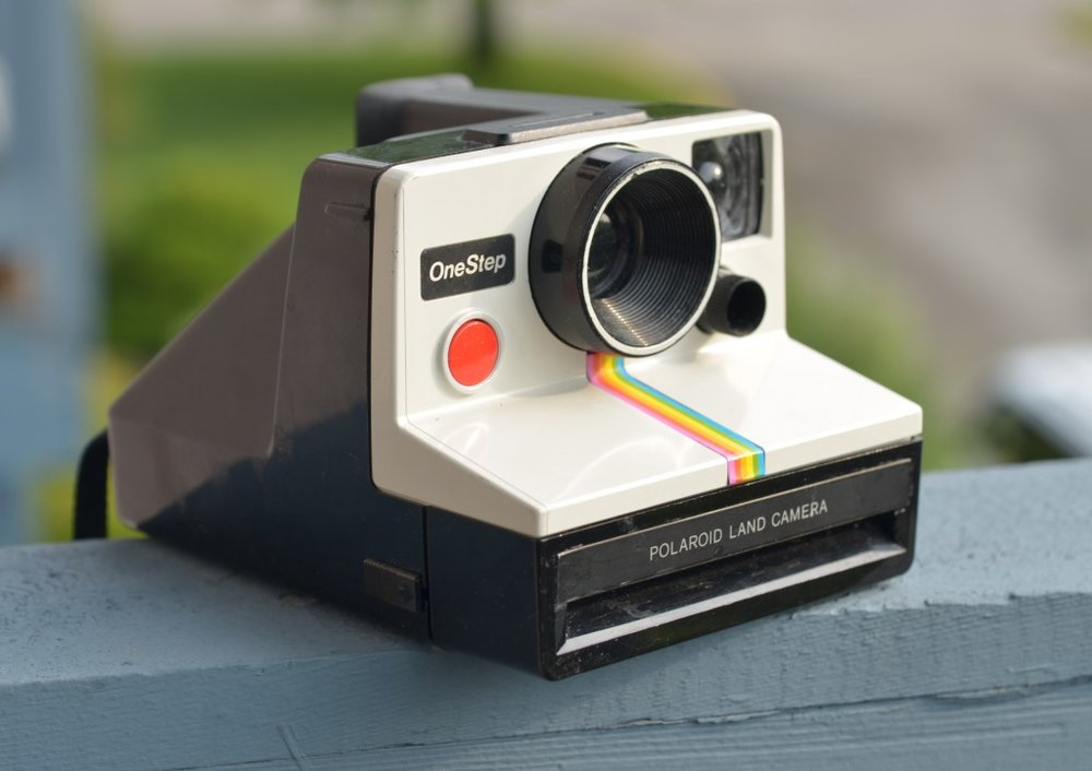 "Polaroid Camera OneStep 600 The following is placeholder text known as ""lorem ipsum,"" which is scrambled Latin used by designers to mimic real copy. Class aptent taciti sociosqu ad litora torquent per conubia nostra, per inceptos himenaeos. Phasellus sodales massa malesuada tellus fringilla, nec bibendum tellus blandit."