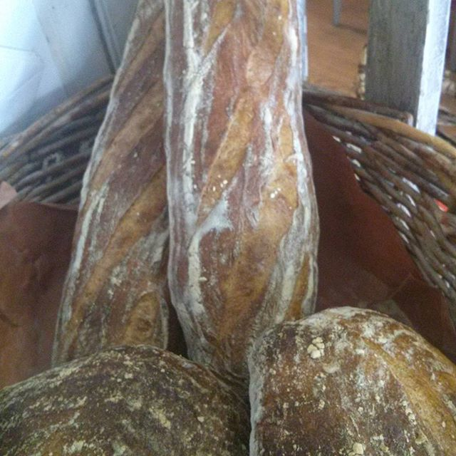 Fresh French bastards and country bread #Bayard #delaware #chefshavende