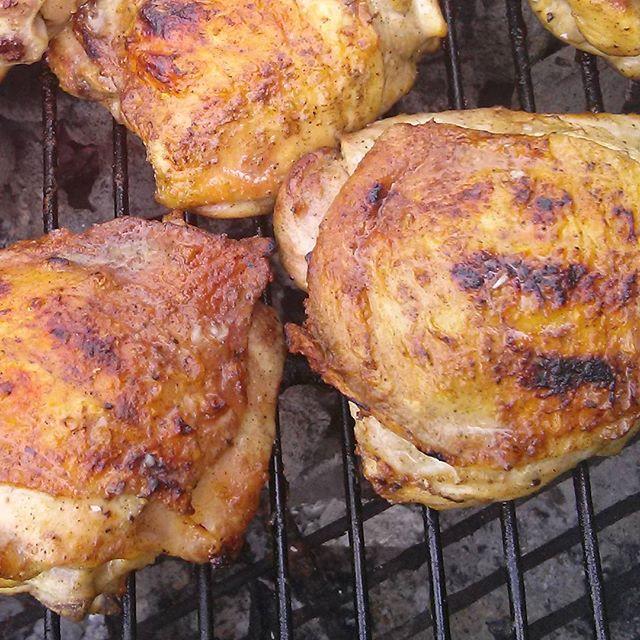 Cornell BBQ chicken #Cornell #BBQ #chicken #thighs # chefshaven