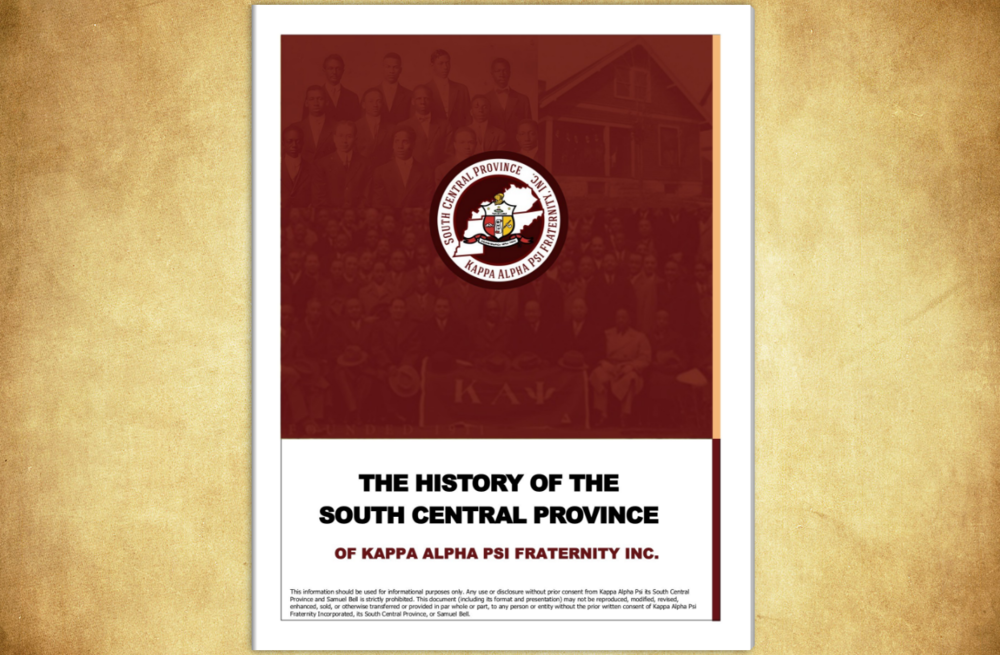 View our complete Province History (click the image) - Written by Bro. Samuel Bell