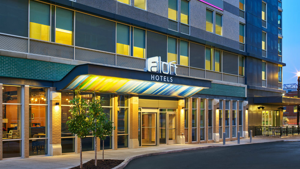 Aloft louisville downtown - 102 Main StreetLouisville, KY 40202502-583-1888Room Rate: Single or Double$119.00/Night plus taxComplimentary Internet - Discounted self-parking at $12.00 per day
