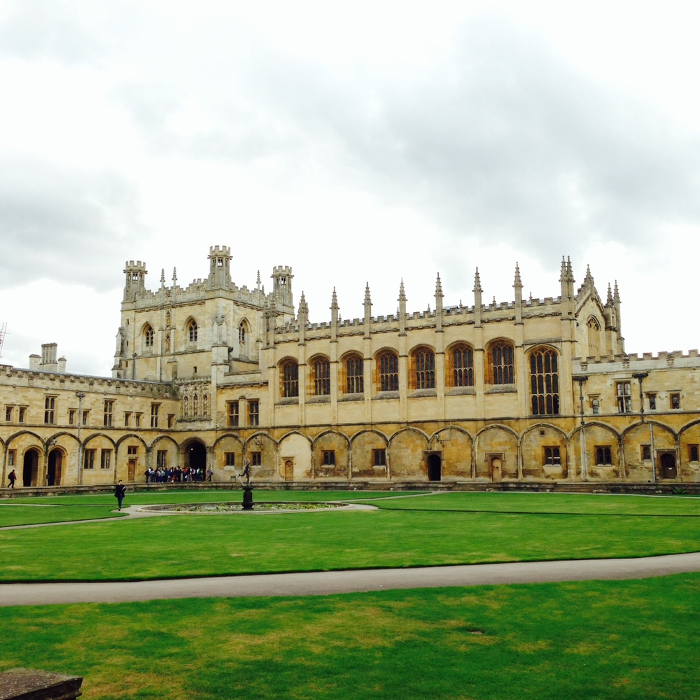 Christ Church College, where my tutorials are held. Don't be fooled, the classrooms are ugly and cramped.