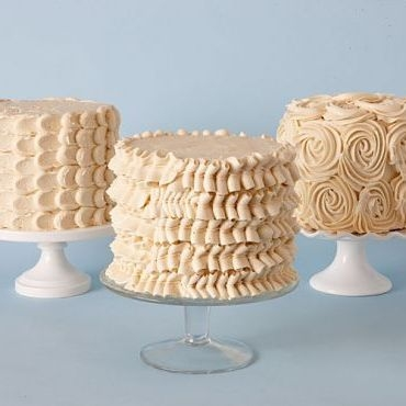 BUTTERCREAM CAKES are just better.... - decorative and delicious...