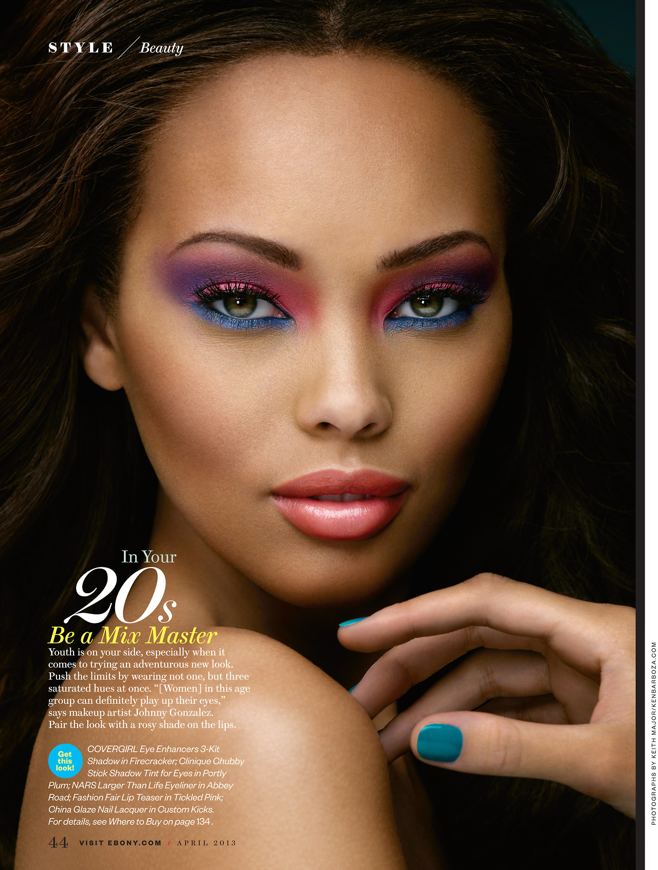 Ebony make up