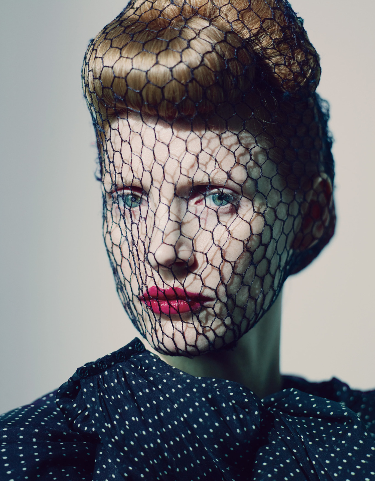 I love this look! wmagazine: Photo by Paolo Roversi Jessica Chastain shows us what dreams and couture are made of.