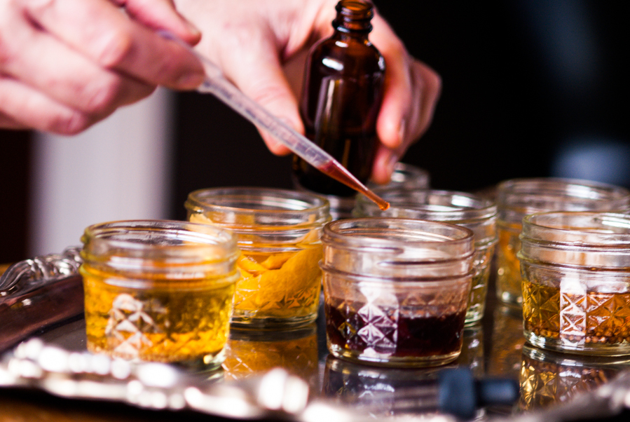 diy bitters bar for your holiday parties — audra mulkern