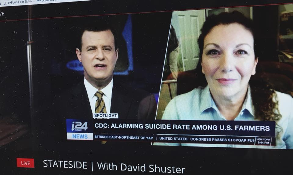 Live Interview with David Schuster on i24News