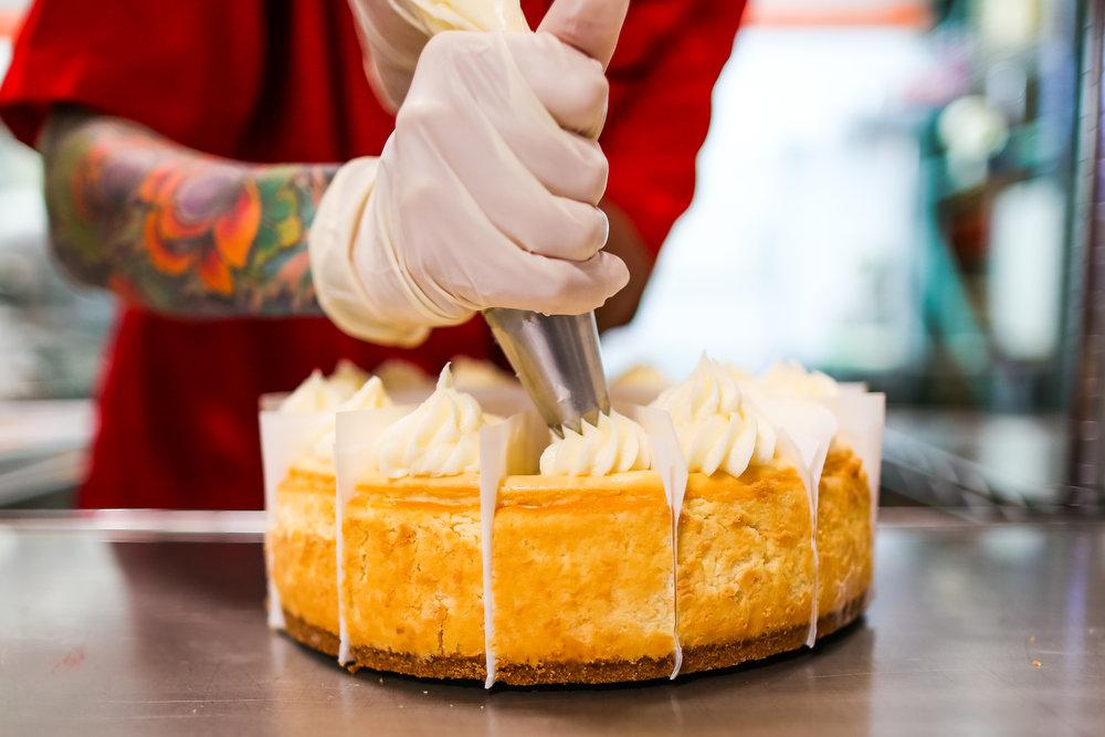 Chuckanut Cheesecake