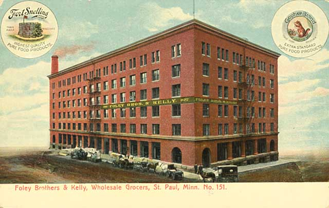 1910 Foley Brothers and Kelley Warehouse