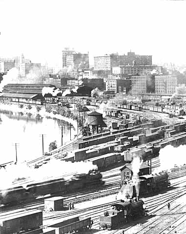 1918 Union Depot Railyards