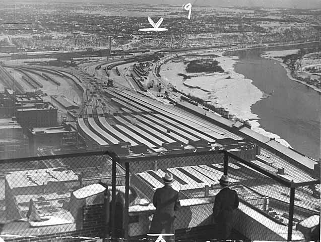 1949 Union Depot Railyards