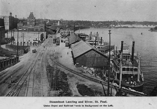 1898 Steamboat Landing and River Lowertown.jpg
