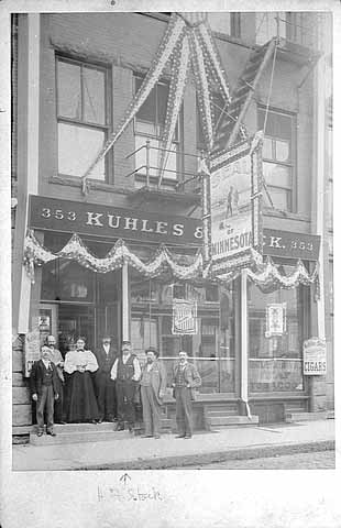 1905 Kuhles and Stock Cigar Company, 353-355 Jackson Street Lowertown.jpg