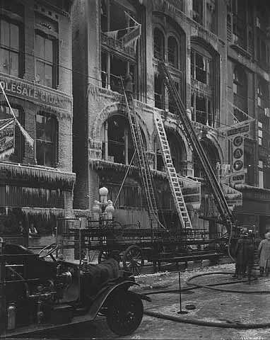 1910 J. A. Miller Cap Company and American Supply Company, St. Paul. fire Lowertown.jpg